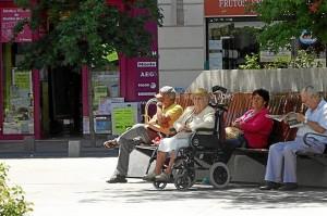 Se incrementa el gasto en pensiones. / Foto: Europa Press.