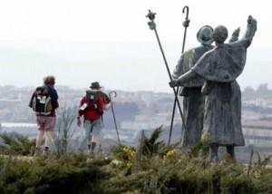 Peregrinación a Santiago de Compostela.