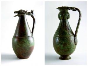 Dos de las piezas que se expondrán en el Metropolitan.