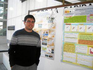 El investigador Miguel Hernández. /  Foto: Fundación Descubre.