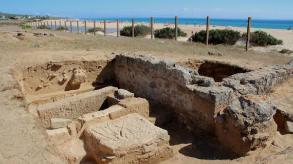 Descubren un mausoleo cristiano en Cádiz