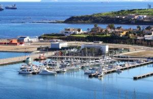 Puerto deportivo Saladillo en Algeciras.
