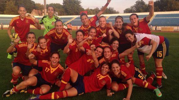 Las chicas de Quereda meten a España por primera vez en la historia en un Mundial