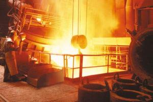 Industria siderúrgica.