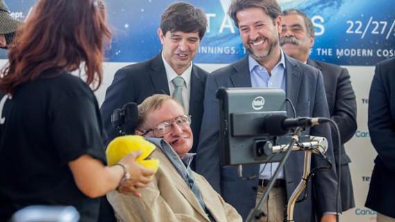 Stephen Hawking visitará Tenerife en septiembre para presentar el III Festival Starmus
