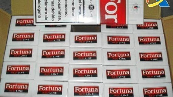 Aduanas detecta una reducción en la entrada de tabaco de contrabando en sus recintos