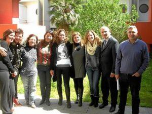 El equipo de investigadores que ha desarrollado esta tecnología. / Foto: Europa Press / Fundación 'Descubre'.