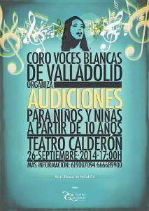 Se buscan voces infantiles en Valladolid.