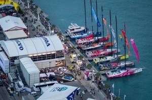 El puerto de Alicante, punto de partida de la competición. / Foto: Ainhoa Sanchez / Volvo Ocean Race