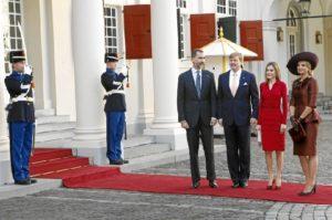 Los Reyes de España con los de Países Bajos. / Foto: Casa Real.
