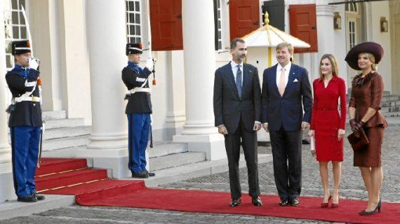 Primera visita de Felipe VI y Letizia como Reyes de España a Países Bajos