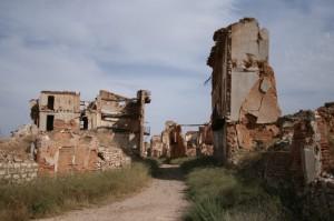 Belchite se encuentra en la provincia de Zaragoza.