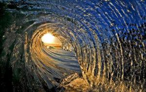 El tubo de la olaEl tubo de la ola.