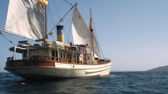 El último barco de vapor español