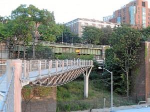 Puente de Squibb Park. / Foto: wikipedia.