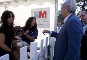 Los animales son mostrados en El Retiro. / Foto: Comunidad de Madrid