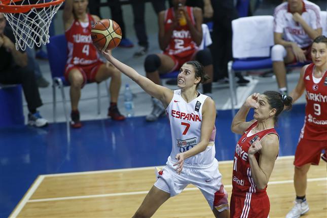 Uno de los momentos del partido. / Foto: www.feb.es