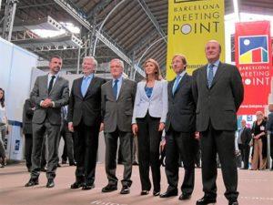 Inauguración de Barcelona Meeting Point. / Foto: Europa Press.