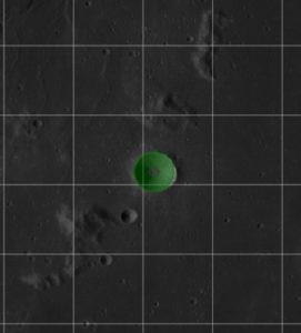 Cráter 'Cajal'.