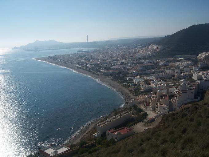 Costa de Carboneras (Almería).