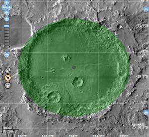 Cráter Columbus.