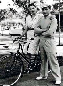 Juan Pujol y Araceli González.