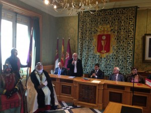 Recreación en el Ayuntamiento de Cuenca.