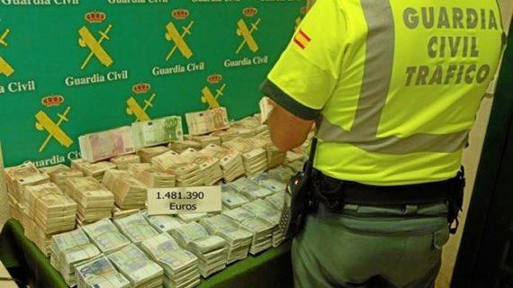 Varios detenidos en Cádiz, entre ellos un abogado y tres guardias civiles, en dos operaciones contra el blanqueo