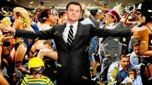 Leonardo Di Caprio en 'El lobo de Wall Street'.