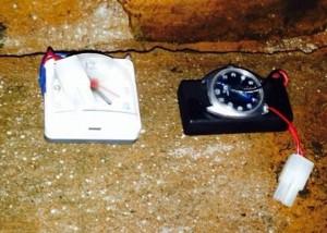 Los explosivos encontrados en A Coruña. / Foto: Ministerio del Interior.