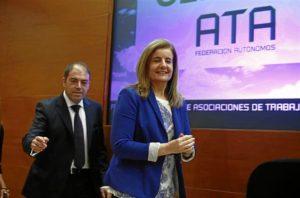 La ministra de Empleo Fátima Báñez. / Foto: Europa Press.