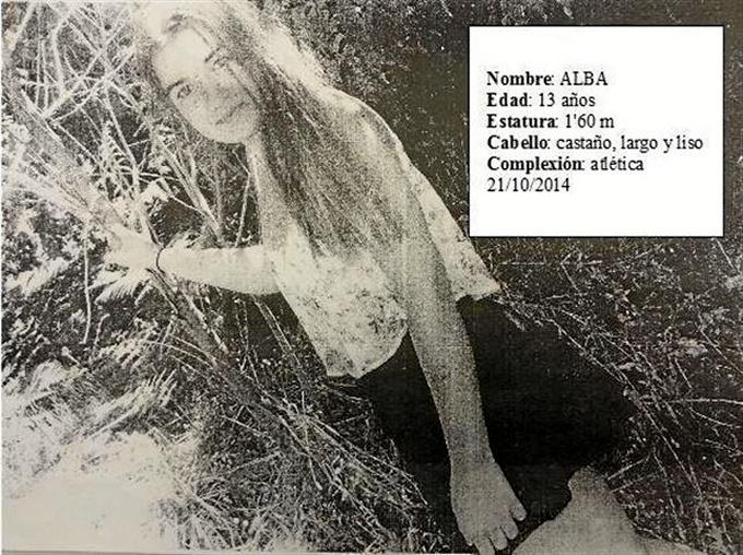 La joven gallega desaparecida.