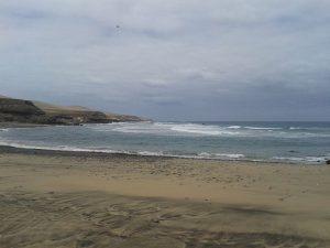 La playa de Garcey en 2013, sin restos del SS América. / Foto: wikipedia.
