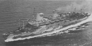 Cuando pasó a manos de la Marina se llamó USS West Point. / Foto:  wikipedia