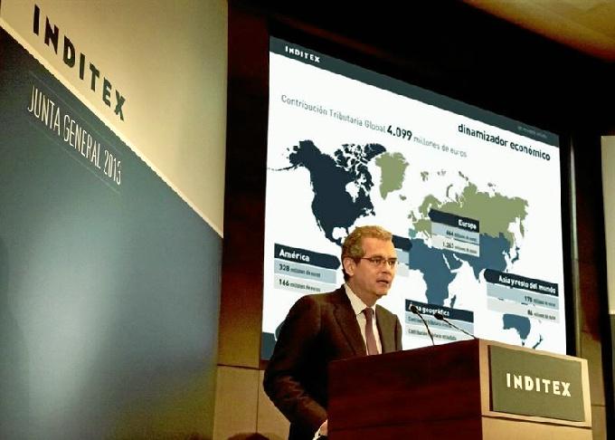 Pablo Isla, presidente de Inditex. / Foto: Europa Press.