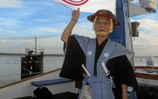 Japoneses en la orilla del Guadalquivir, 400 años después