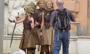 Rodaje de la serie en Osuna, Sevilla. / Foto: Fans de Juego de Tronos.