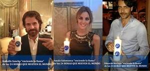 Rodolfo Sancho, Amaia Salamanca o Eduardo Noriega apoyan esta campaña.