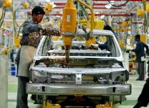 Sector manufacturero español.