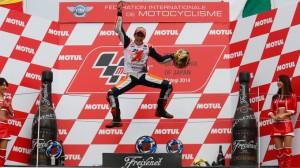 Márquez, bicampeón del mundo de MotoGP.