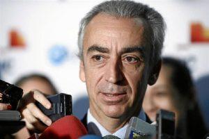 El secretario de Hacienda, Miguel Ferre, en declaraciones a los medios. / Foto: Europa Press.