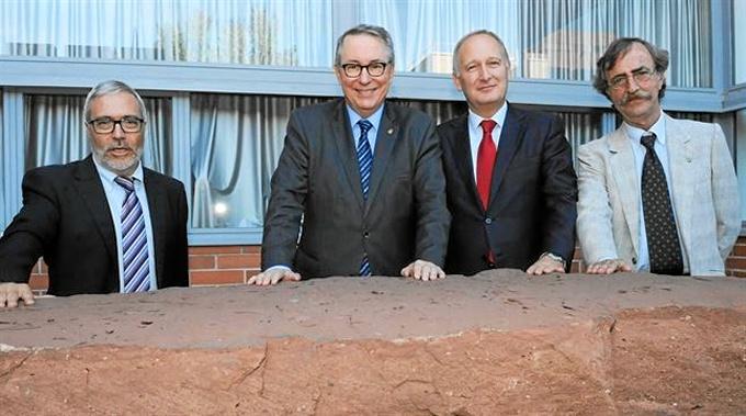 La Universidad de Barcelona abre un patio geológico para acercar la geología y las ciencias a la sociedad