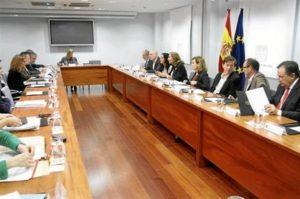 Reunión del comité. / Foto: Sanidad