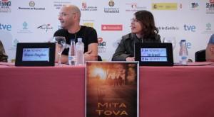 Los directores de 'MIta Tova'. / Foto: www.seminci.es
