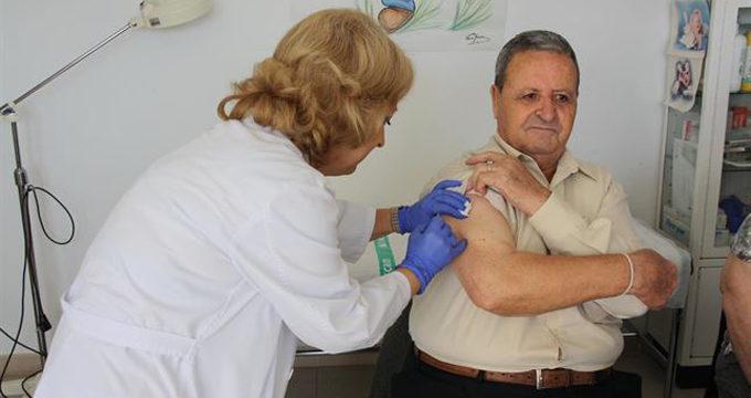 Aumenta la vacunación de la gripe en mayores de 65 años