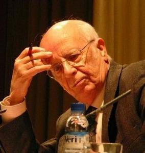 Emilio Lledó ha sido galardonado con el Premio Nacional de Literatura 2014.