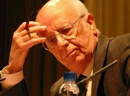 Emilio Lledó galardonado con el Premio Nacional de las Letras Españolas 2014