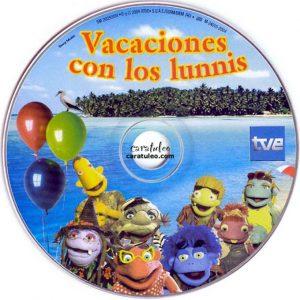 Uno de los cd musicales de la serie infantil.