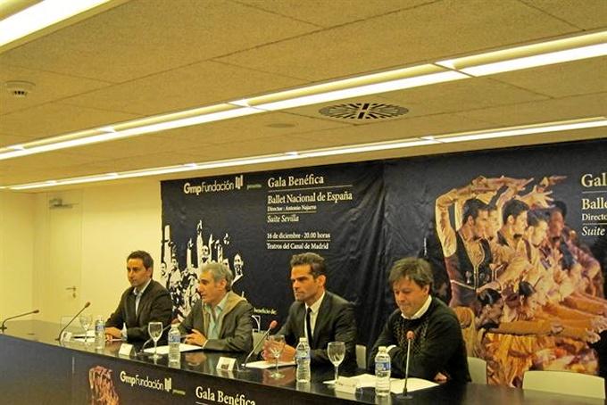 Presentación del espectáculo. / Foto: Europa Press.