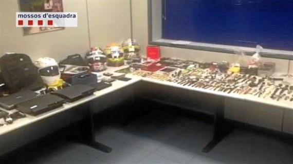 Cae en Barcelona una banda de ladrones de pisos